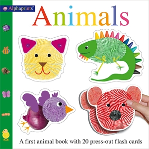 Roger Priddy: Alphaprints Animals : Alphaprints Flash Card Books