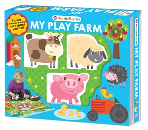 Farm Puzzle Playset