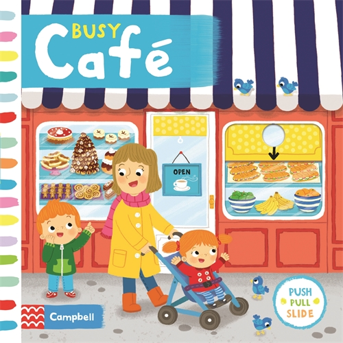 Louise Forshaw: Busy Café