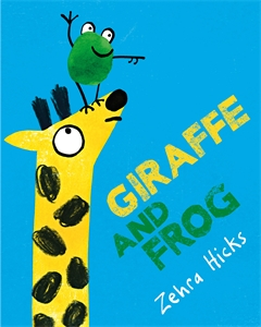 Giraffe and Frog