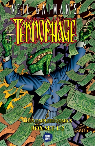 Bryan Talbot: Neil Gaiman's Teknophage Boxed Set: Vols. 1-2