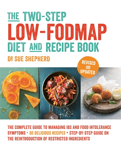 The two step low fodmap diet and recipe book pan macmillan au dr sue shepherd the two step low fodmap diet and recipe book forumfinder Choice Image