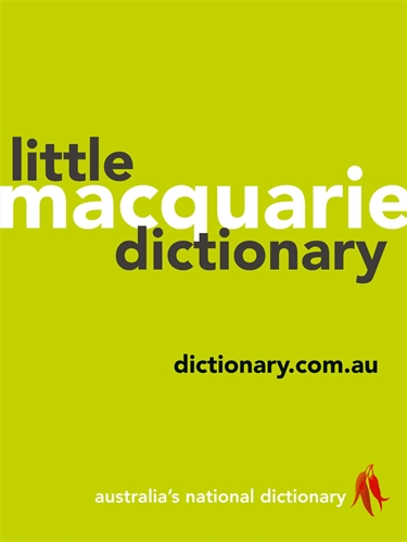 Macquarie Dictionary: Macquarie Little Dictionary