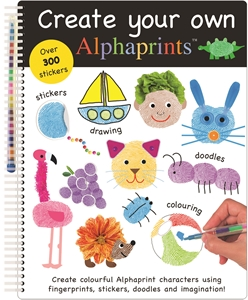 Roger Priddy: Create Your Own Alphaprints : Alphaprints