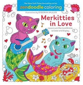Zendoodle Coloring: Merkitties in Love