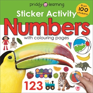 Roger Priddy: Early Learning Sticker Activity Numbers