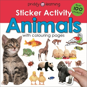 Roger Priddy: Early Learning Sticker Activity Animals