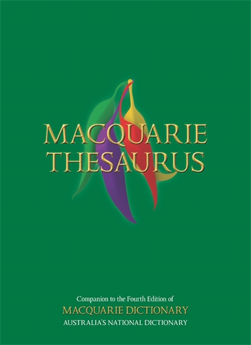 Macquarie Dictionary: Macquarie Thesaurus