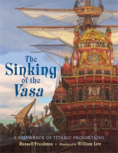 Russell Freedman: The Sinking of the Vasa