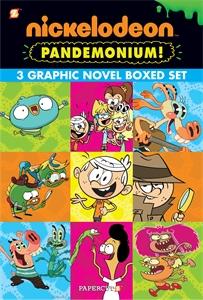 Nickelodeon Pandemonium Boxed Set: Vol. #1-3