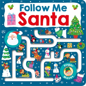 Roger Priddy: Follow Me Santa