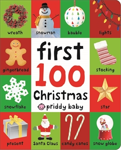Roger Priddy: First 100 Soft To Touch Christmas Words