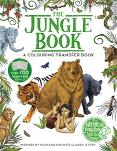 The Jungle Book: A Colouring Transfer Book