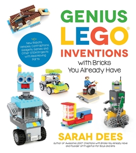 Sarah Dees: Genius LEGO Inventions with Bricks You Already Have