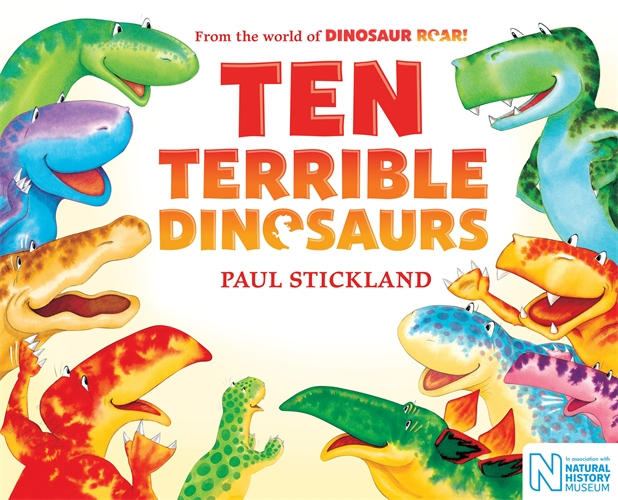 Paul Stickland: Ten Terrible Dinosaurs
