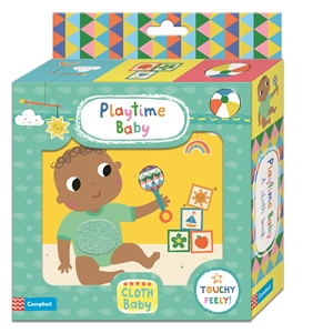 Campbell Books: Playtime Baby Cloth Book