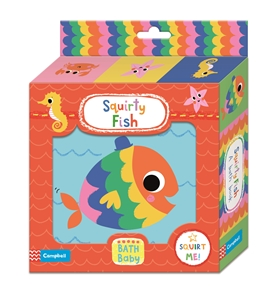 Campbell Books: Squirty Fish Bath Book