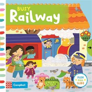 Jo Byatt: Busy Railway