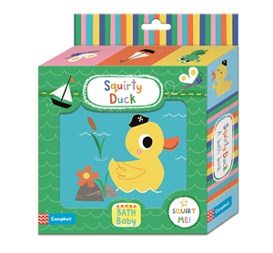 Campbell Books: Squirty Duck Bath Book