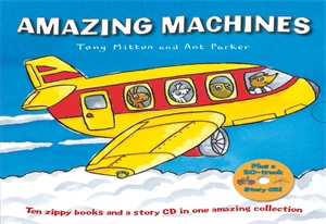 Tony Mitton: Amazing Machines x 10 Book Slipcase