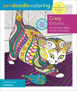 Jodi Best: Zendoodle Coloring: Crazy Kittens