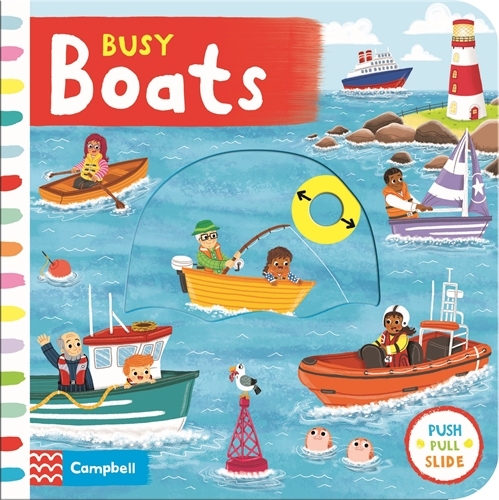 Campbell Books: Busy Boats