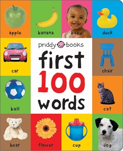 Roger Priddy: Large First 100 Soft to Touch Words
