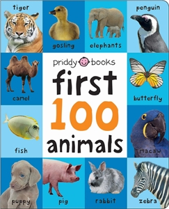 Roger Priddy: Large First 100 Soft to Touch Animals