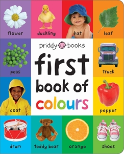 Roger Priddy: Large First 100 Soft to Touch First Book of Colours