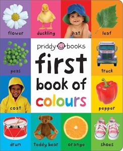 Roger Priddy: First 100 Soft to Touch First Book of Colours