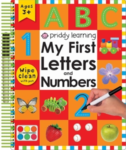 Roger Priddy: My First Letters and Numbers