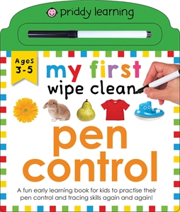 Roger Priddy: My First Wipe Clean Pen Control