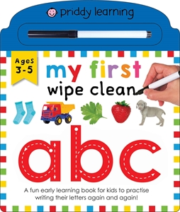 Roger Priddy: My First Wipe Clean ABC