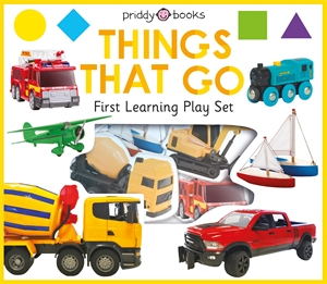 Roger Priddy: First Learning Things That Go Play Set
