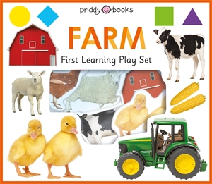 Roger Priddy: First Learning Farm Play Set