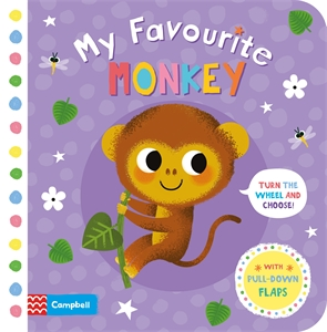 Campbell Books: My Favourite Monkey