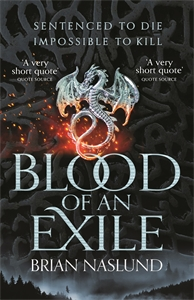 Brian Naslund: Blood of an Exile: Dragons of Terra Book 1