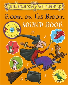 Julia Donaldson: Room on the Broom Press-the-Page Sound Book