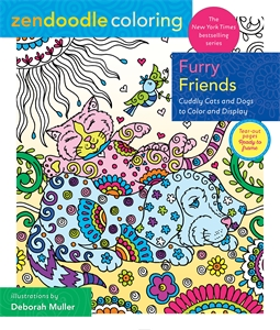 Deborah Muller: Zendoodle Coloring: Furry Friends