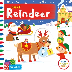 Campbell Books: Busy Reindeer