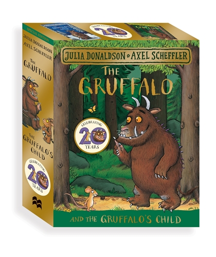 Julia Donaldson: The Gruffalo and the Gruffalo's Child Board Book Gift Slipcase