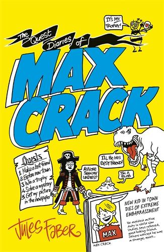 The Quest Diaries of Max Crack - Pan Macmillan AU