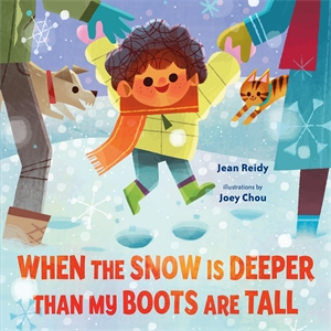 Jean Reidy: When the Snow Is Deeper Than My Boots Are Tall