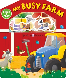 Roger Priddy: My Busy Farm: Magic Sticker Play & Learn