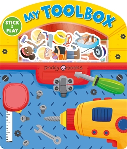 Roger Priddy: My Tool Box: Magic Sticker Play & Learn