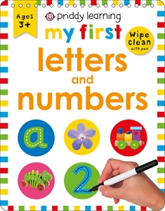 Roger Priddy: Wipe Clean Easels: My First Letters and Numbers