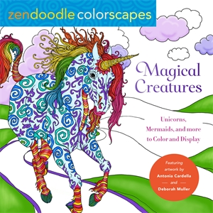 Deborah Muller: Zendoodle Colorscapes: Magical Creatures