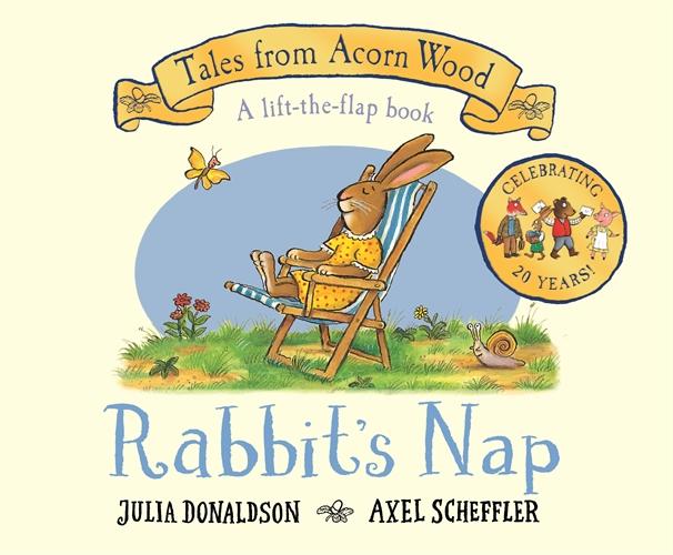 Julia Donaldson: Rabbit's Nap
