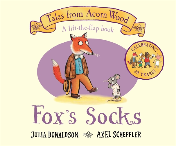 Julia Donaldson: Fox's Socks