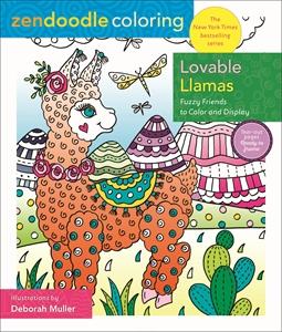 Deborah Muller: Zendoodle Coloring: Lovable Llamas